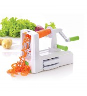 "Spiral Slicer ""Spirooli"": vegetable and fruit slicer"