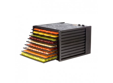 Dryer for fruits Excalibur with Timer - 9 trays black