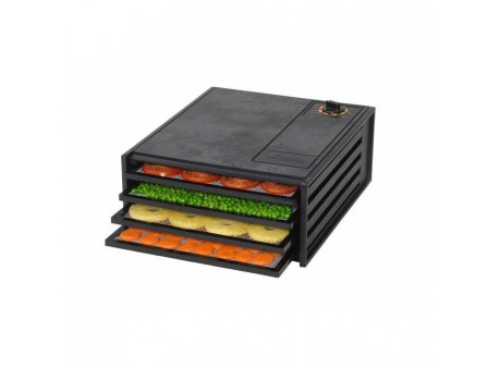 Dryer for fruits Excalibur without Timer - 4 trays black