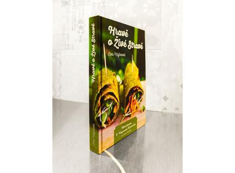Hravě o živé stravě - kniha