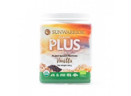 Sunwarrior Protein Classic Plus BIO - Vanilkový