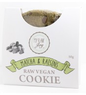 Cookie superfood BIO matcha & rozinky