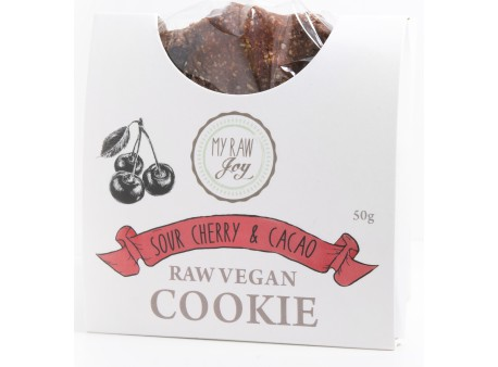Cookie superfood BIO sour cherry & cacao