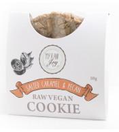 Cookie superfood BIO slaný karamel & pekanové ořechy (Kód: 1548)