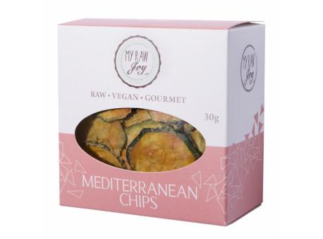 Mediterranean Zucchini Chips