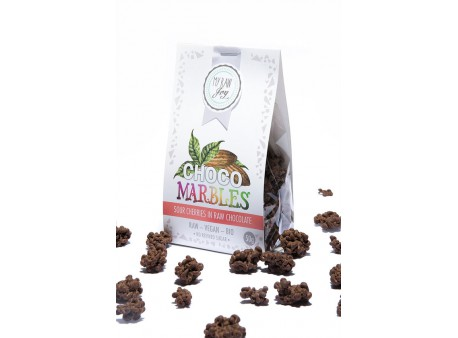 Choco Marbles Sour Cherries BIO