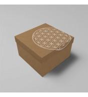 Dárková krabice s motivem květu života (Kód: 1556)