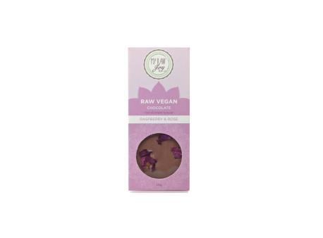 Čokoláda BIO malina & růže