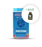 Protein Blend Bio lesní plody + zdarma MacaForce™ máta - 20 g