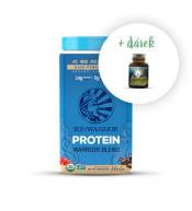 Protein Blend Bio moka + zdarma MacaForce™ máta - 20 g