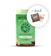 Protein Classic Organic chocolate + free Coffee with Lion´s mane and Cocoa with cordyceps