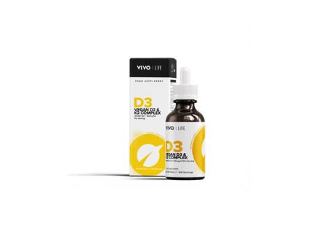 Vitamin D3+K2 tekutý