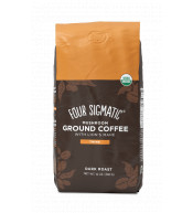 Ground Coffee + Lion's Mane & Chaga mushroom mix