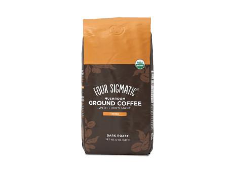 Ground Coffee + Lion's Mane & Chaga mushroom mix