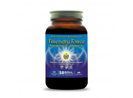 Friendly Force™ veganská probiotika, kapsle