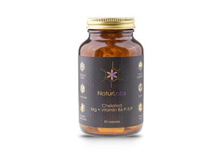 Hořčík chelátový + vitamin B6, kapsle