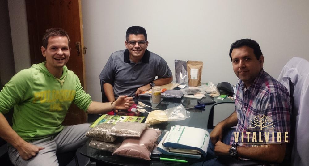 Jednání s peruánskými dodavateli superpotravin