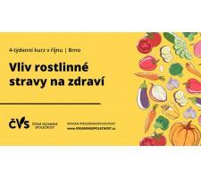 Kurz: Vliv rostlinné stravy na zdraví – 1. lekce