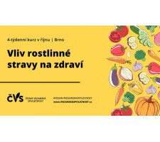 Kurz: Vliv rostlinné stravy na zdraví – 2. lekce