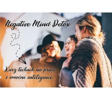 Negative Mind Detox - Kurz technik na práci s emoční inteligencí