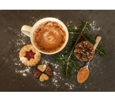Vegan vánoční a silvestrovská tabule