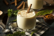 "A Vegan ""Egg-not-Nog"" That Will Knock Your Stockings Off"