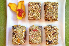 Raw Vegan Fruity Chocolate Breakfast Bars