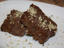 Carob Fig Frozen Fudge