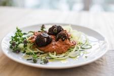 Zucchini Spaghetti with