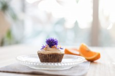 Raw mrkvové cupcakes