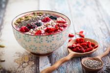 Immunity booster smoothie bowl plná vitamínu C
