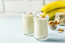 Ořechovo banánové smoothie