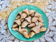 Ořechové rohlíčky jako z pekárny