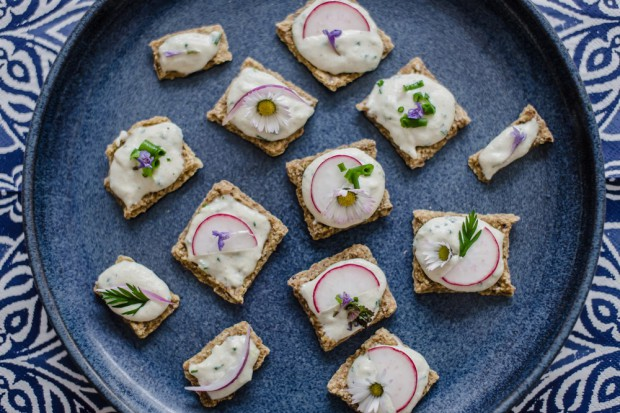 Chlebíčky na raw piknik