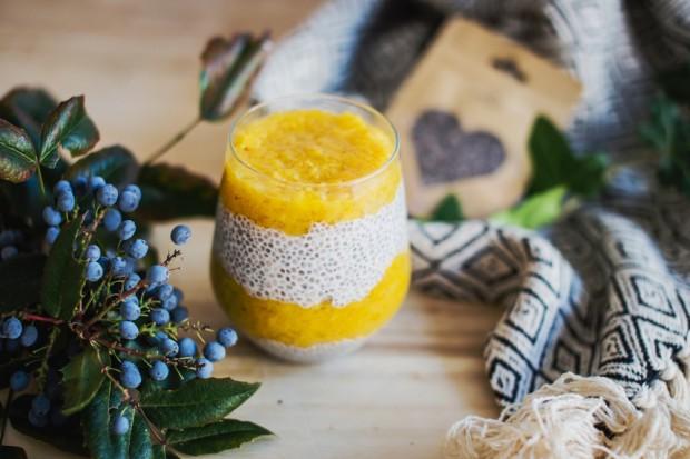 Zdravá snídaně: Mangový chia puding