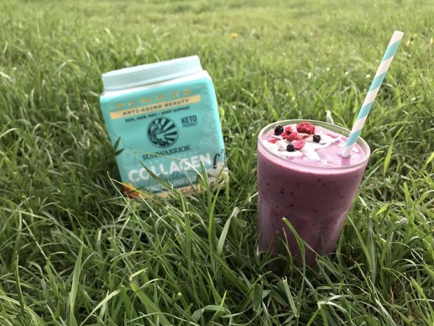 Letní ledové collagen smoothie